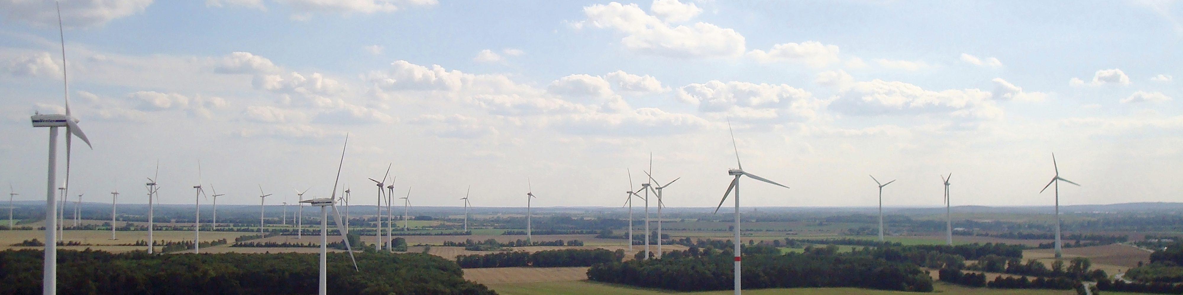 Unsere Windkraftanlagen im Windpark Wernitz